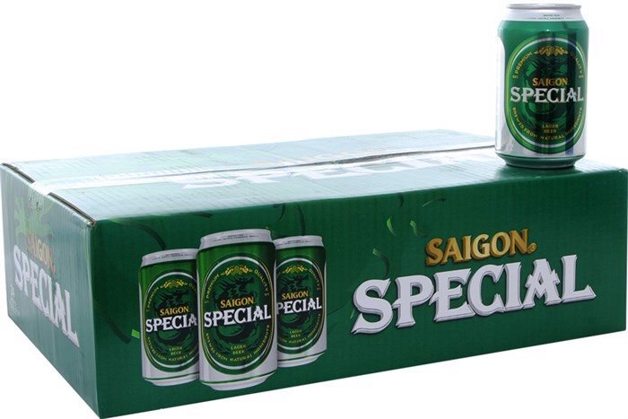 Bia Saigon Special  ( 330ml / Lon )