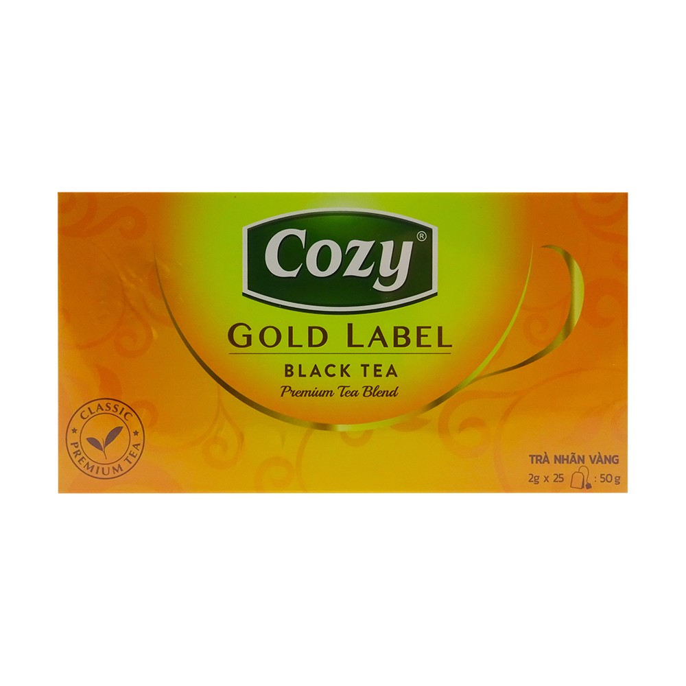 Cozy Gold Label - Black Tea (Hộp 50g)