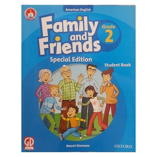 Family And Friends (Ame. Engligh) (Special Ed.) Grade 2: Student Book