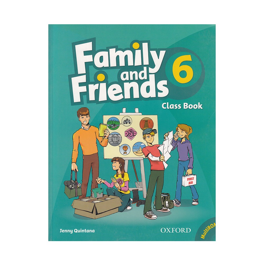 Family And Friends - Tập 6: Class Book