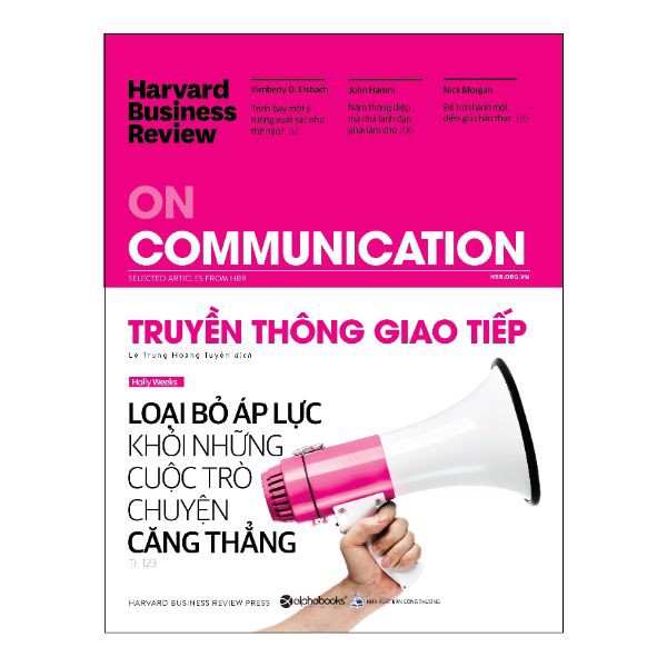 Harvard Business Review - On Communication - Truyền Thông Giao Tiếp
