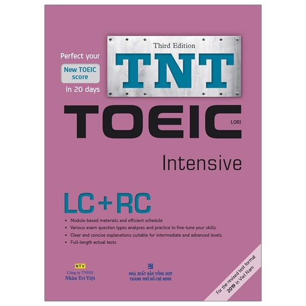 TNT Toeic Intensive LC + RC - CD