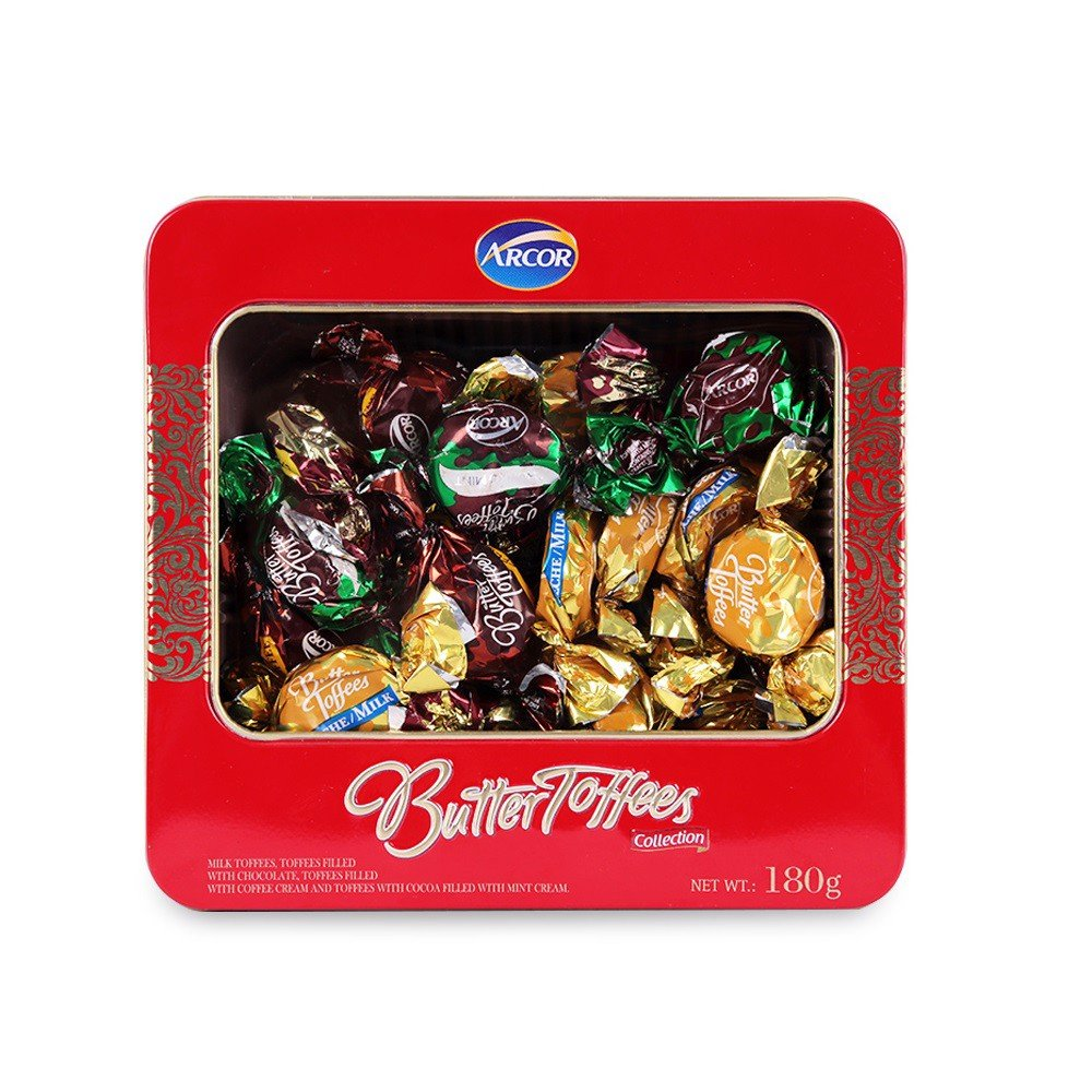Kẹo Arcor Butter Toffees Collection (180g)