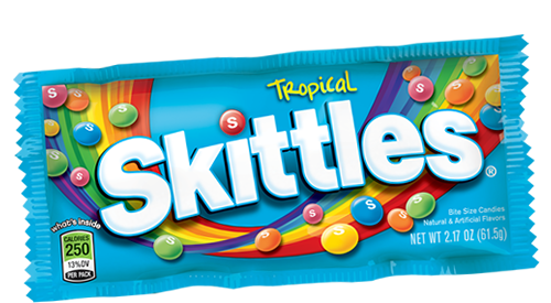 Kẹo Tropical Skittles 62g