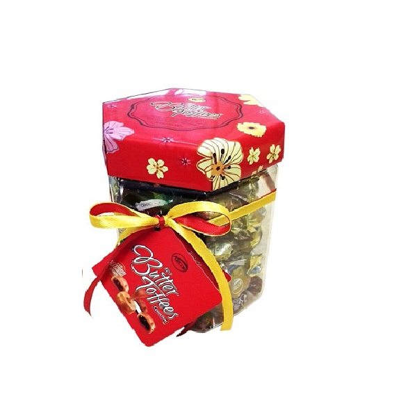 Kẹo Butter Toffees Arcor Hộp Lục Giác (300g)