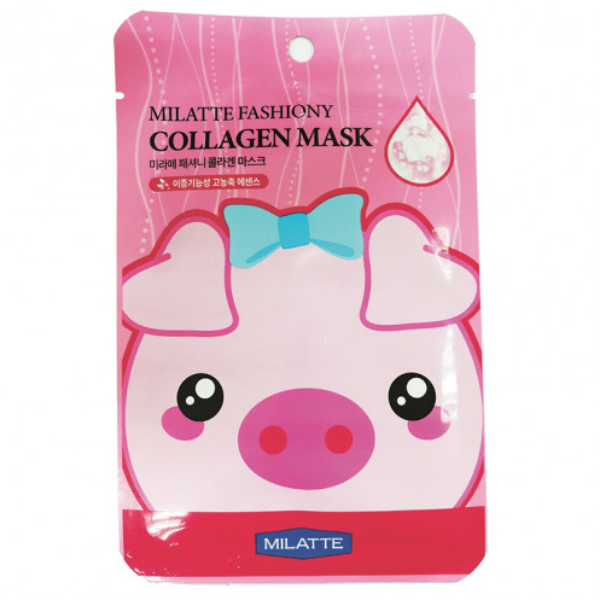 Mặt Nạ Milatte Fashiony Collagen Mask Sheet - Collagen