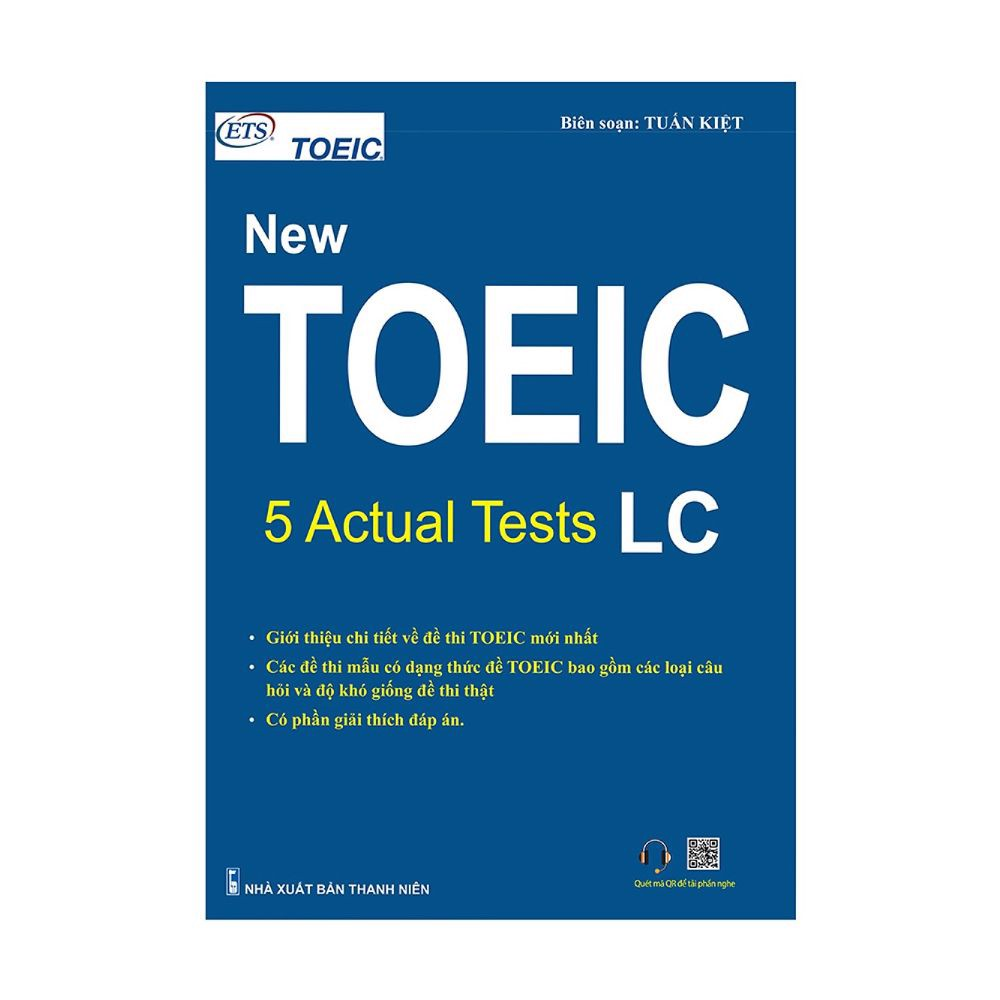 New Toeic: 5 Actual Tests - LC