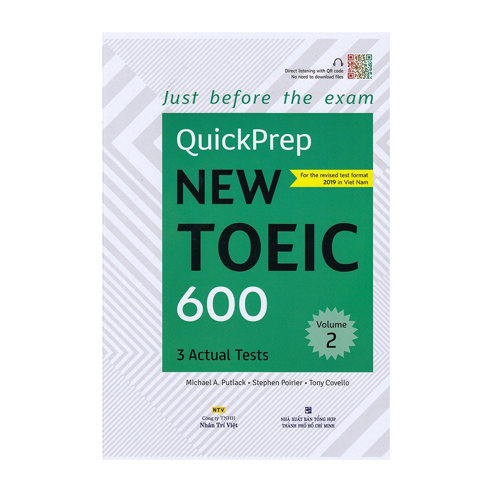 QuickPrep New Toiec 600 - Volume 2