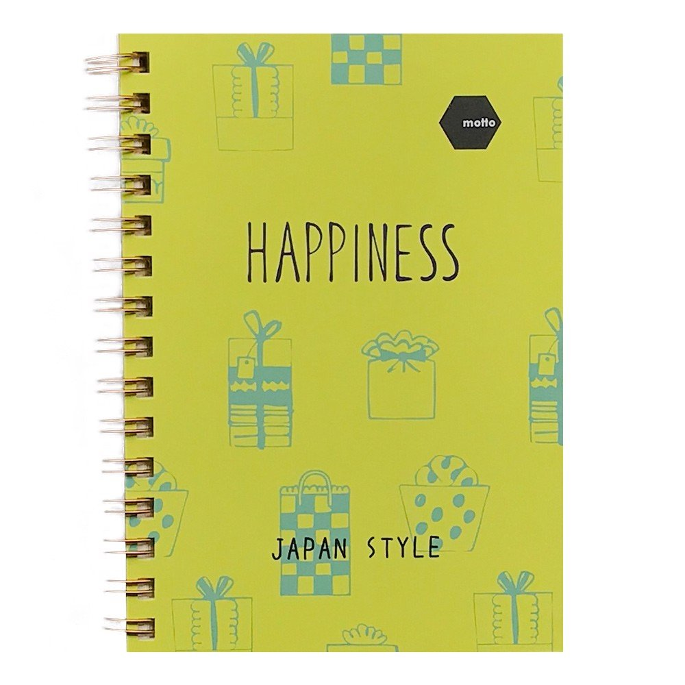 Sổ LX Twin Notebook BLOOM Motto A6