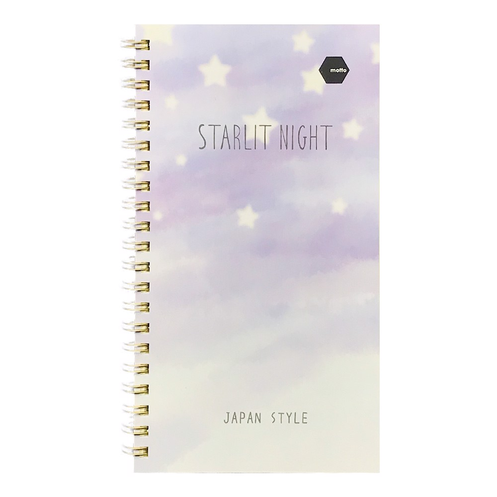 Sổ LX Twin Notebook STARLITNIGHT Motto A5