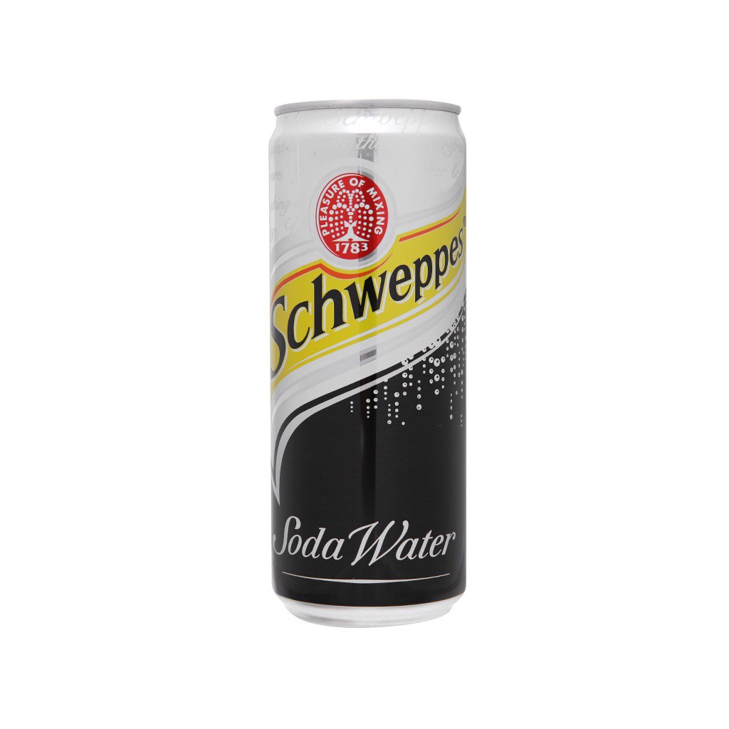 Soda Water Lạt Schweppes - 330ml
