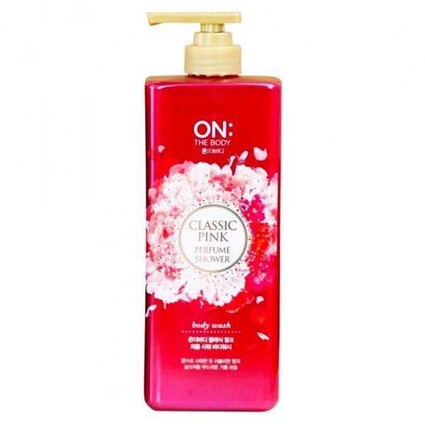 Sữa Tắm On The Body Perfume Shower Boby Wash Classic Pink 500g