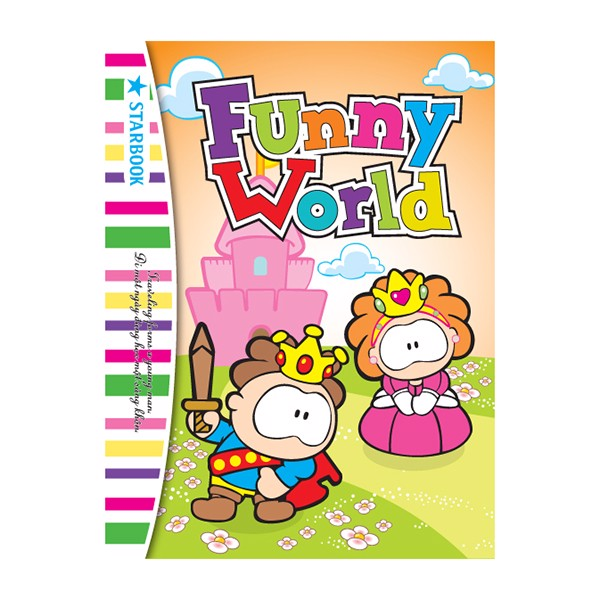 Tập Học Sinh STARBOOK Funny World (96 Trang)