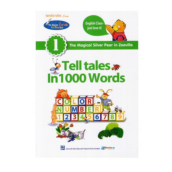 The Magical Silver 1 Telltales In 1000 Words - Kèm File Âm Thanh