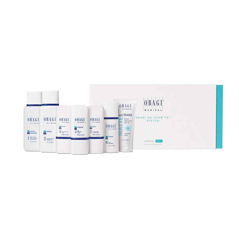 Set trị nám mini cho da dầu Obagi Nu-Derm Travel Kit Normal-Oily