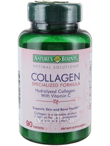 VIÊN UỐNG COLLAGEN WITH VITAMIN C NATURE'S BOUNTY