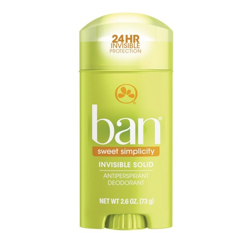 Sáp Khử Mùi Ban Sweet Simplicity Invisible Solid Antiperspirant Deodorant