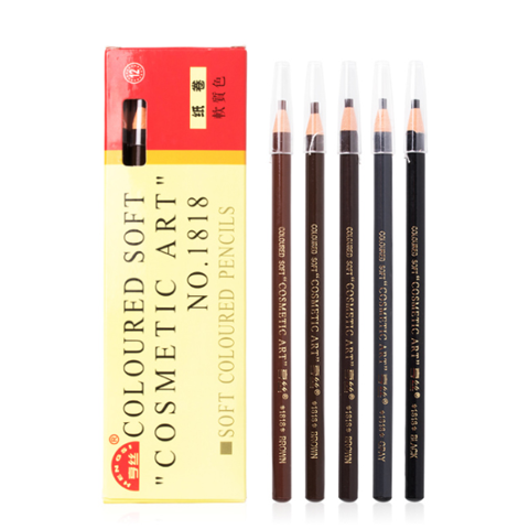 Chì Xé Kẻ Mày Coloured Soft Cosmetic Art Eyebrow Pencil