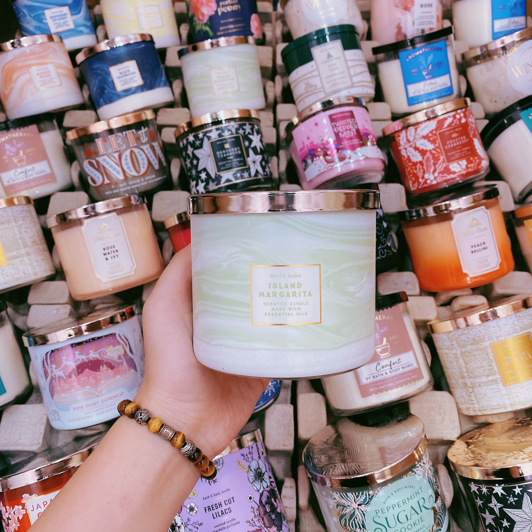 Nến Thơm 3 Bấc Bath & Body Works Island Margarita Scented Candle