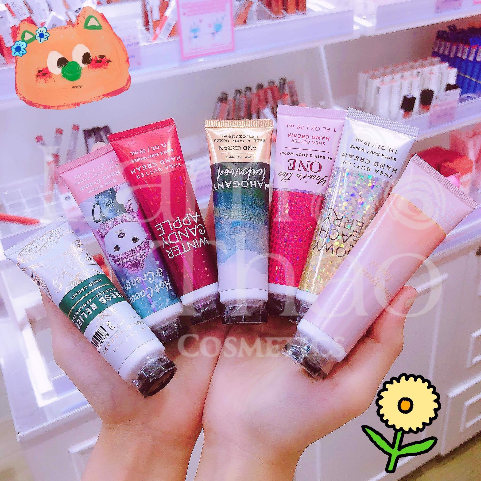 Kem Dưỡng Da Tay Bath & Body Works Snowy Peach Berry Hand Cream