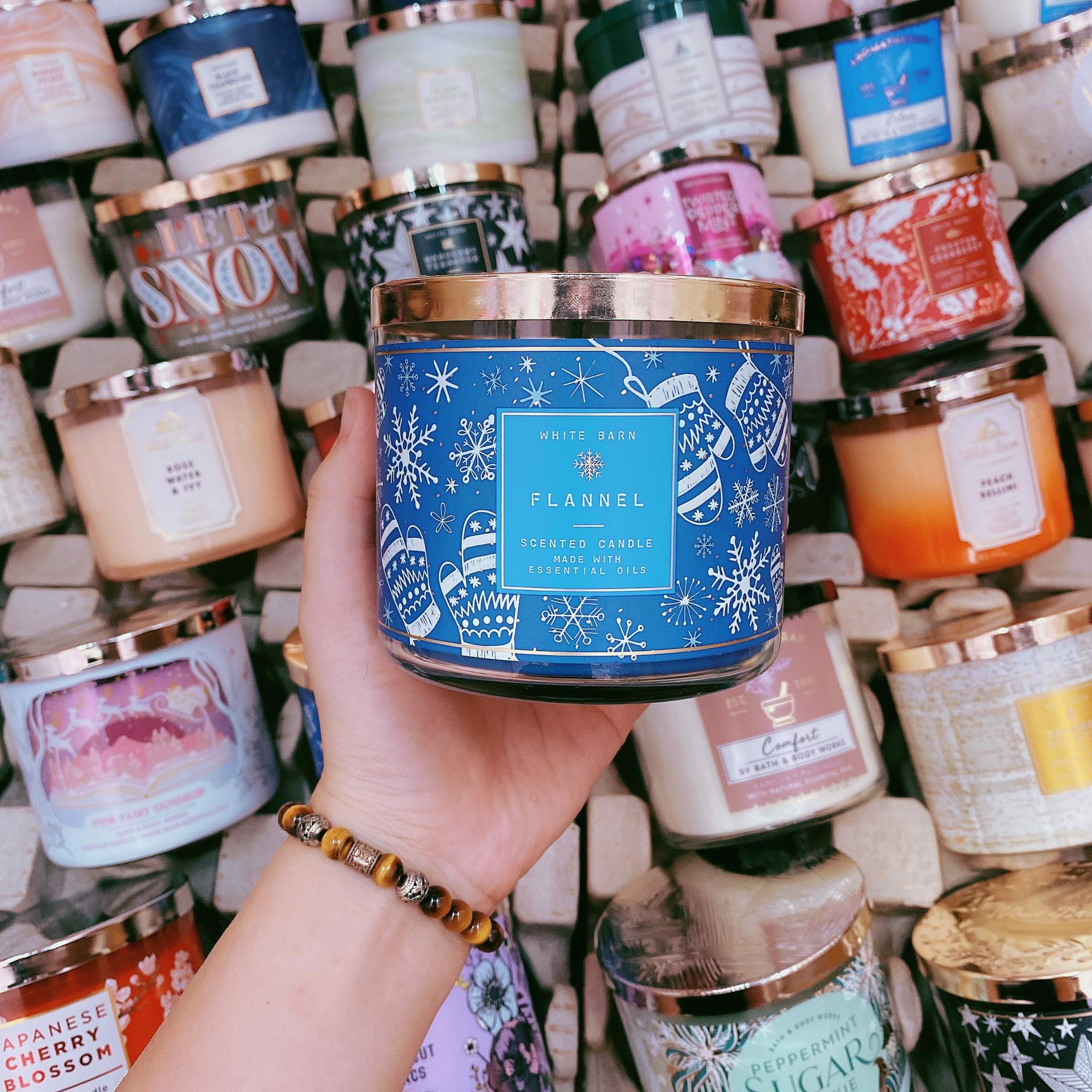 Nến Thơm 3 Bấc Bath & Body Works Flannel Scented Candle
