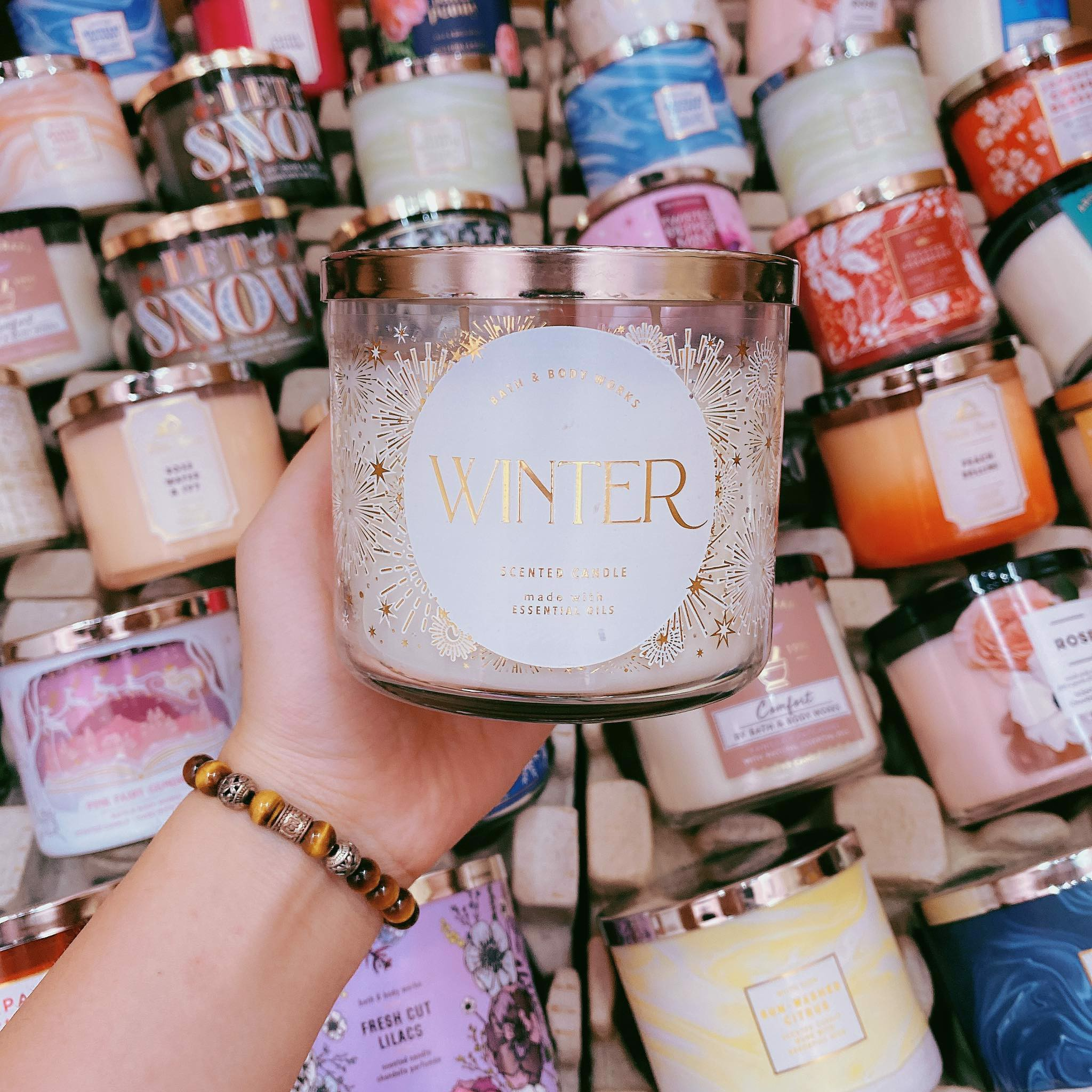 Nến Thơm 3 Bấc Bath & Body Works Winter Scented Candle
