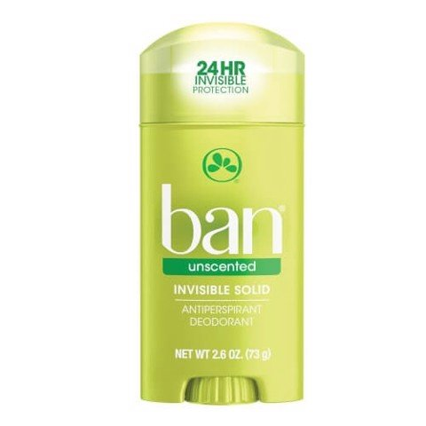 Sáp Khử Mùi Ban Unscented Invisible Solid Antiperspirant Deodorant 73g