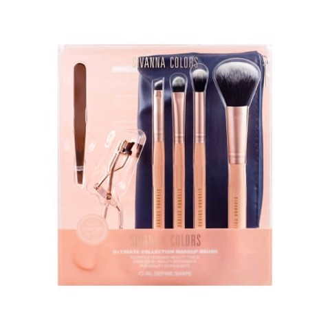 Bộ Cọ Trang Điểm Sivanna Colors Ultimate Collection Makeup Brush