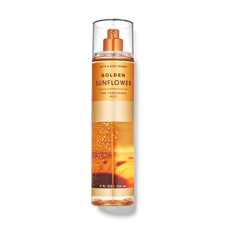Xịt Thơm Bath & Body Works Golden Sunflower Fine Fragrance Mist