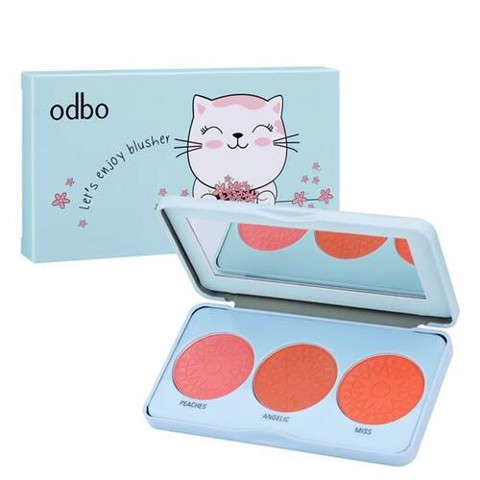 Phấn Má Odbo Let's Enjoy Blusher
