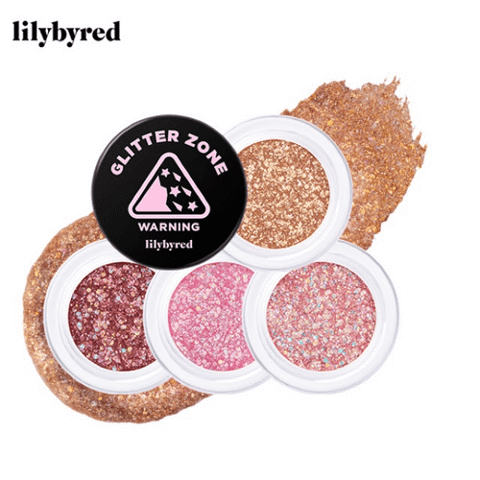 Nhũ Mắt Lilybyred Glitter Zone Crash