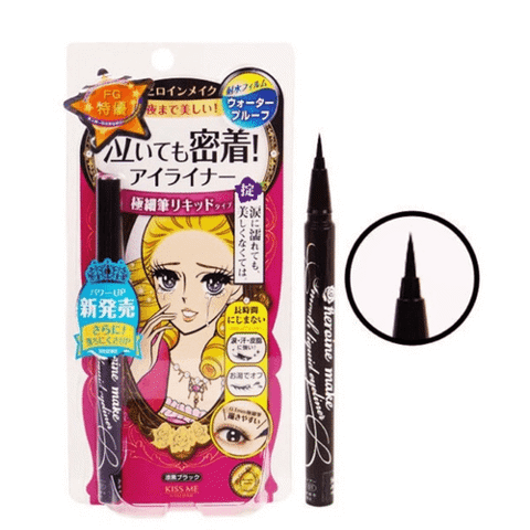 Bút Kẻ Mắt Isehan Kissme Heroine Make Smooth Liquid Eyeliner