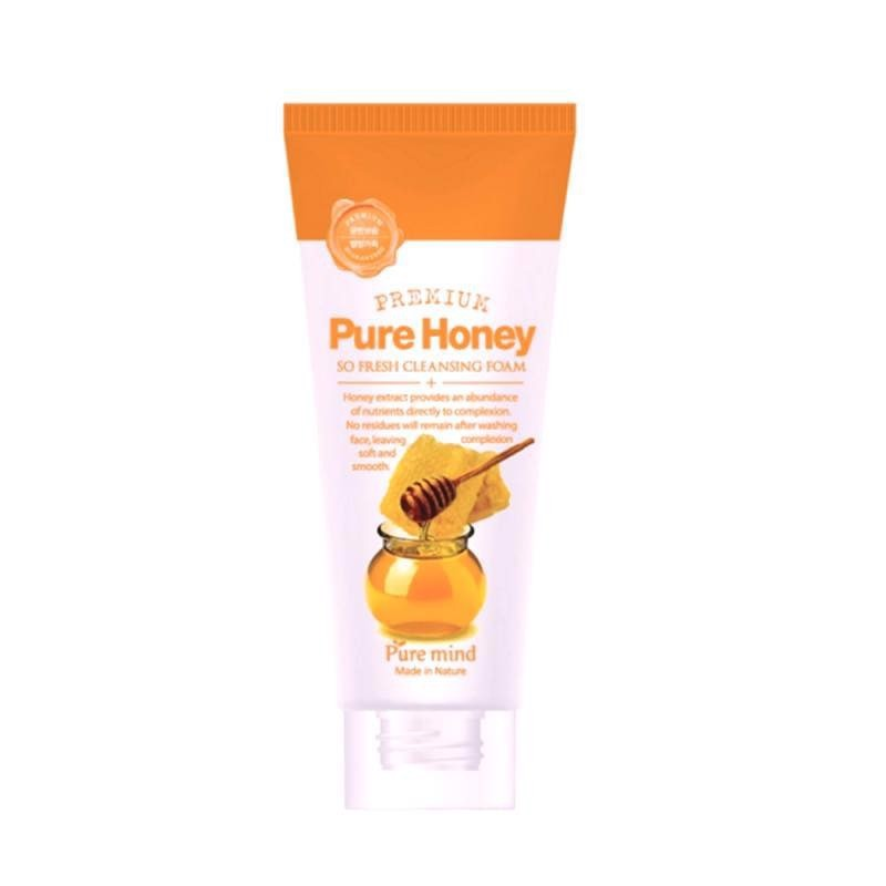 Sữa Rửa Mặt Mật Ong Pure Mind Pure Honey So Fresh Cleansing Foam