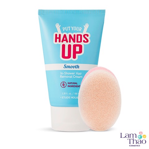 Kem Tẩy Lông Etude House Put Your Hands Up Smooth In-Shower Hair Removal Cream (100ml)