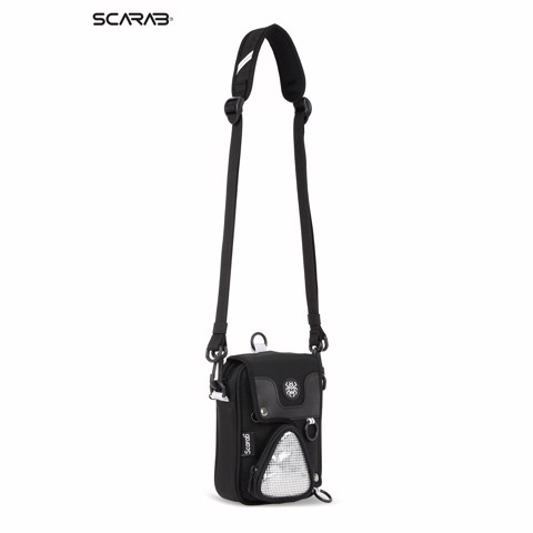 Solid Reflective Pouch Bag