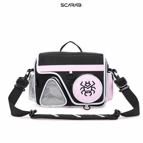 Solid Shapes Messenger Bag
