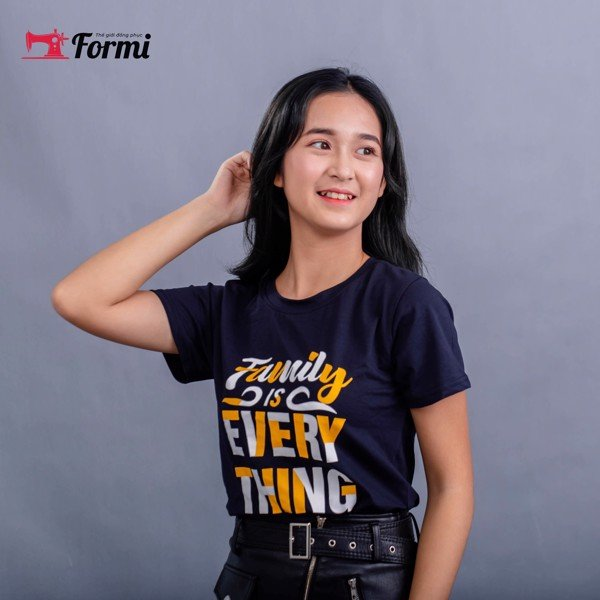 Áo cotton Tshirt 100% cotton in chữ