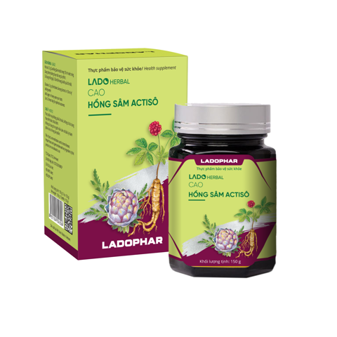 Cao Hồng Sâm Actiso - Lọ 150g