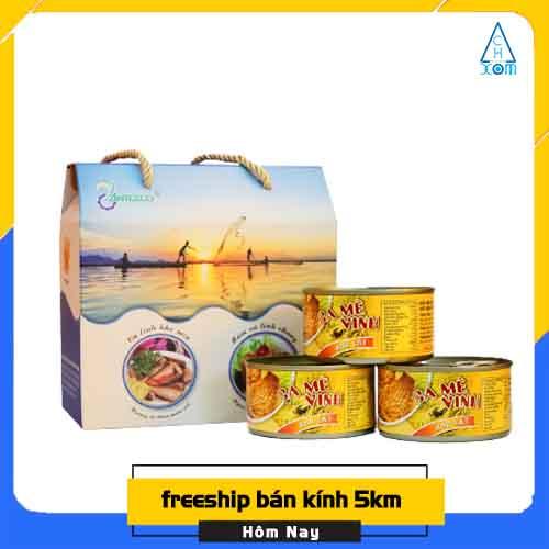 Cá Mè Vinh Kho Lạt Antesco - 210g/hộp