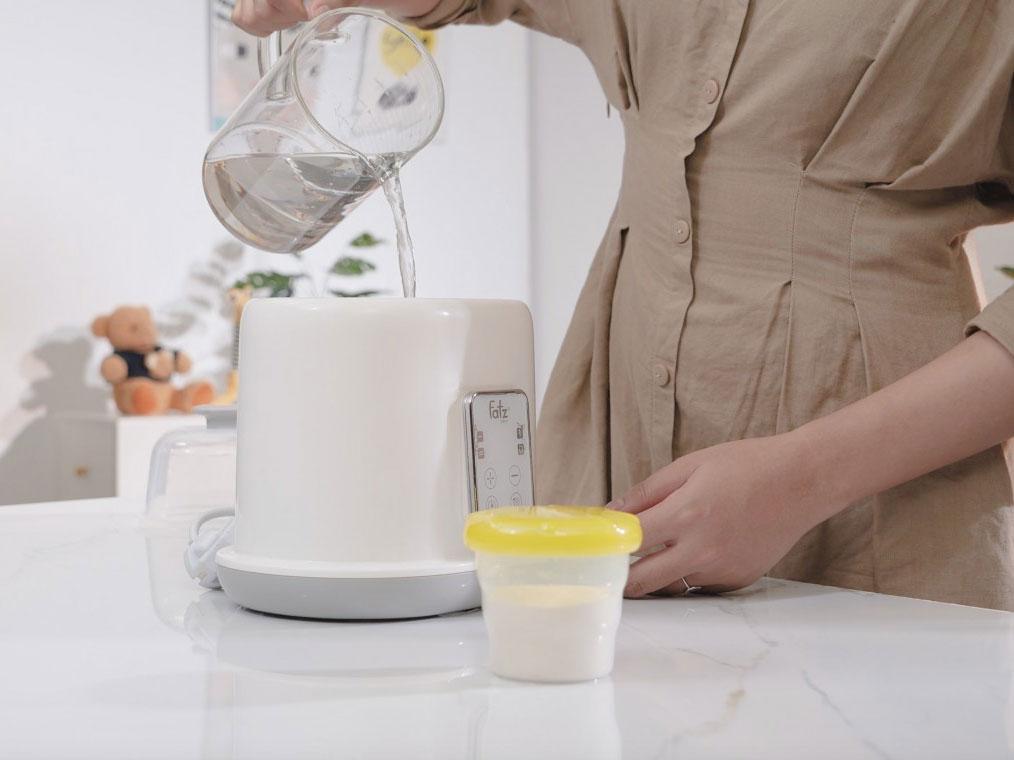 Máy hâm sữa tiệt trùng 2 bình điện tử Duo2 FB3223SL