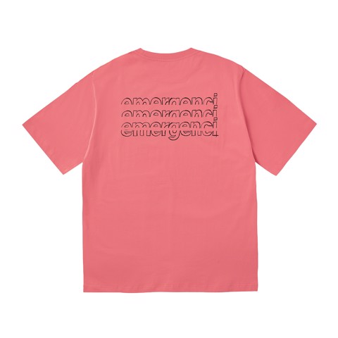 Distort Logo T-shirt - Pink