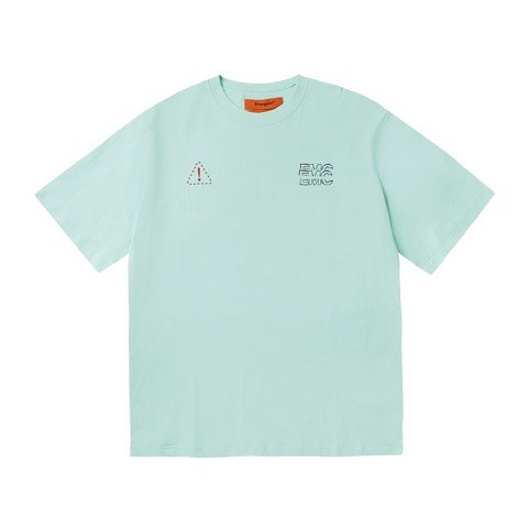 Distort Logo T-shirt - Mint