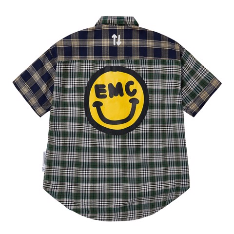 Smiley Patchwork Shirt