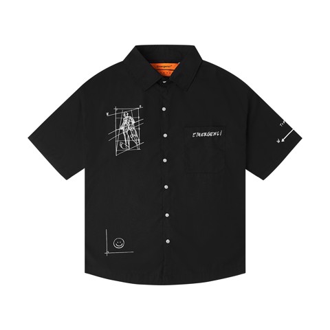 Body Sketch 2.0 Shirt - Black