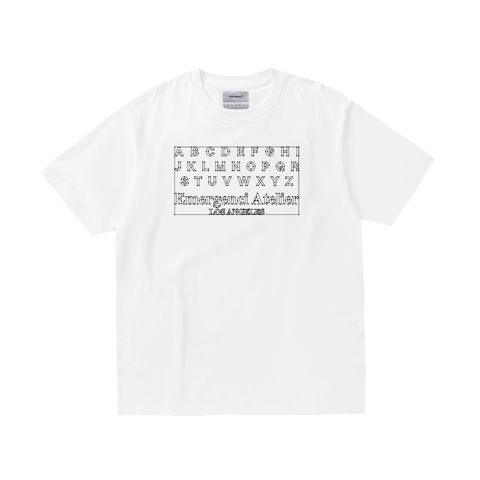 EMC Alphabet T-shirt - White