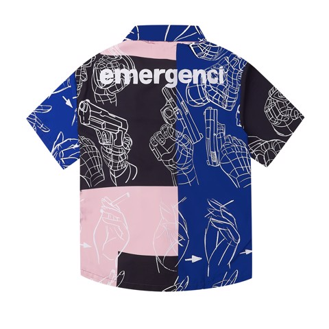 Shooting Shirt - Pink Prism