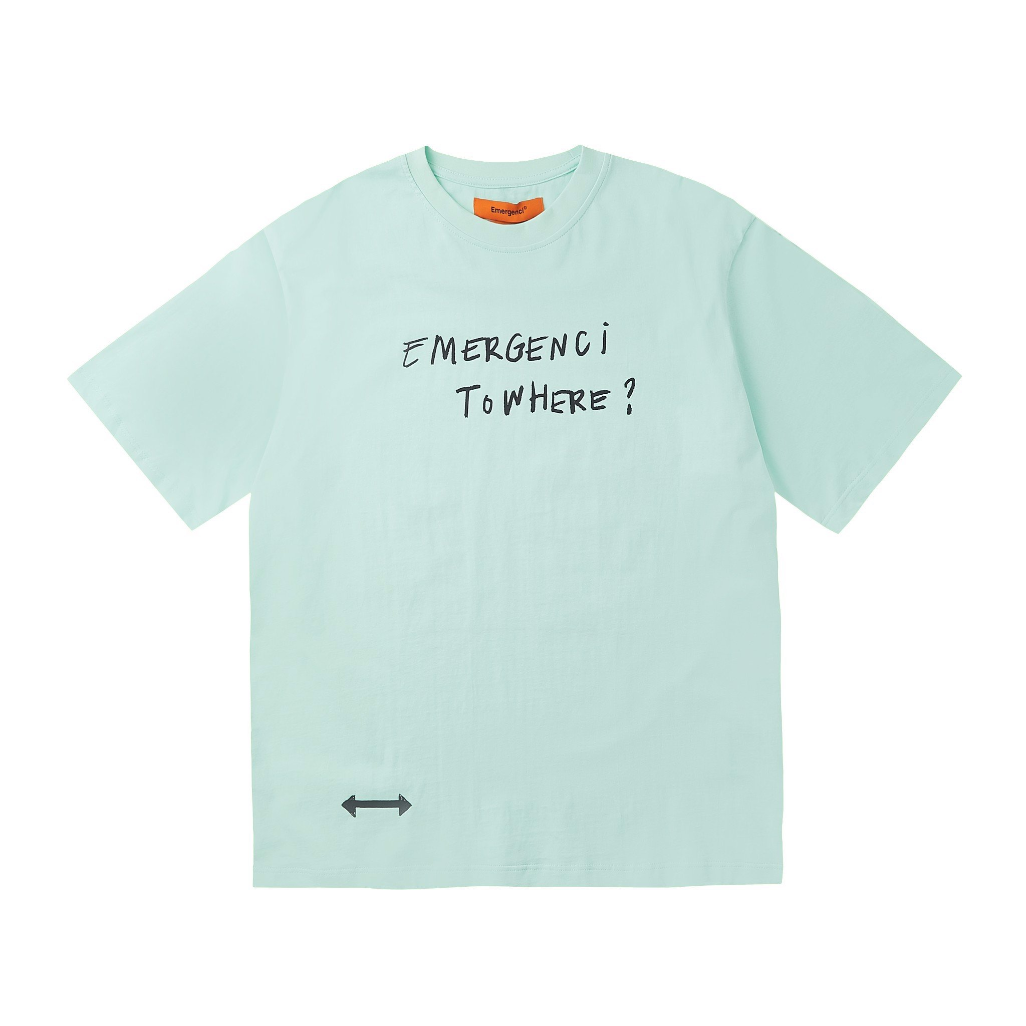 Bodysketch T-shirt - Mint