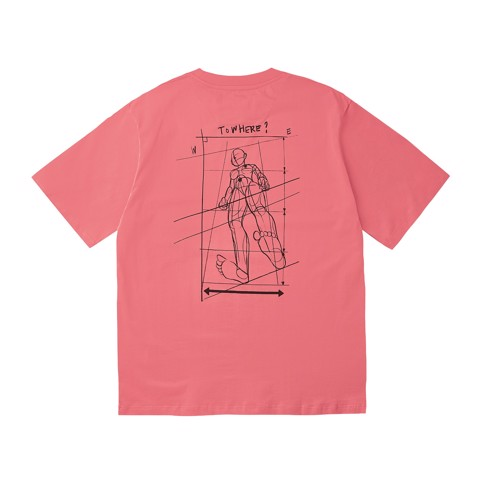 Bodysketch T-shirt - Pink