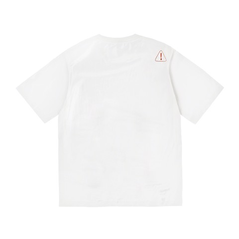 Warning Sign T-shirt - White