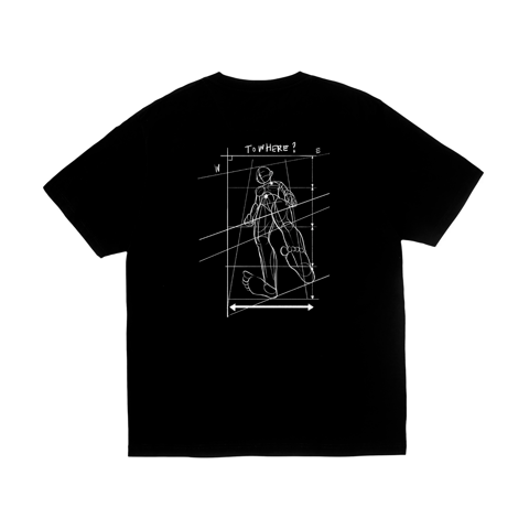 Bodysketch T-shirt - Black